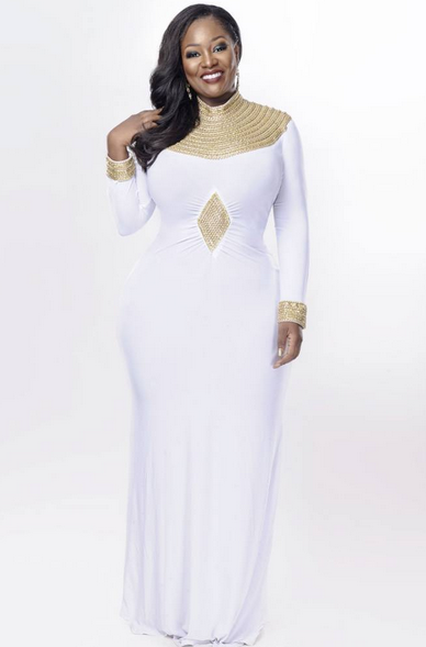 OAP Toolz Looks Stunning As She Put Her Deadly Curves On Display In New Photos
