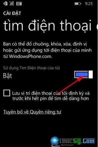 Hướng dẫn tìm lại điện thoại cài Windows Phone bị mất + Hình 2