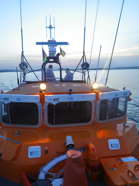 Looking back at the wheelhouse from the ALB bow - 31 October 2014. Photo credit: Dave Riley