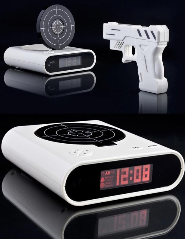 Shooting Alarm Clock