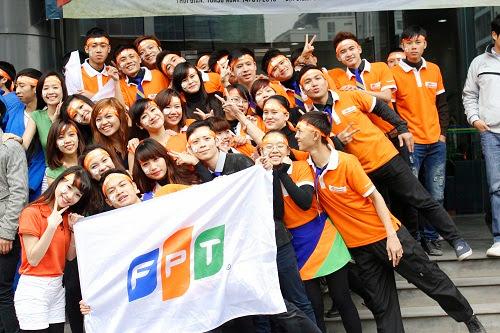 Sinh viên FPT Polytechnic tại Đại lễ kỷ niệm FPT 1/4 thế kỷ