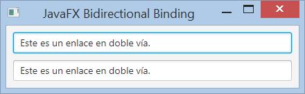 enlace en doble vía