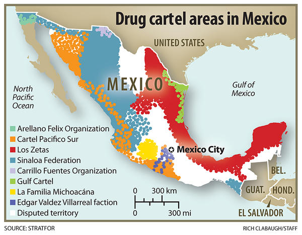 Borderland Beat: Maps of the Mexico Cartels