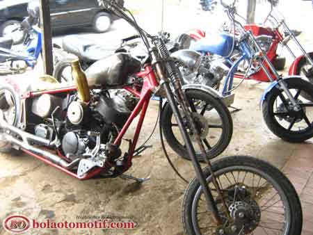 Inilah 3 Modifikasi Motor Chopper Bergaya Harley Keren Abis Bolaotomotif Com