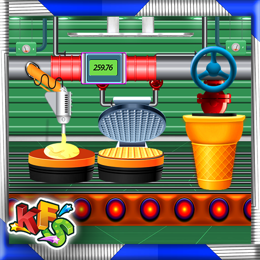 Ice Cream Cone Factory: Dessert Biscuit Maker file APK for Gaming PC/PS3/PS4 Smart TV
