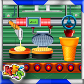 Ice Cream Cone Factory: Dessert Biscuit Maker