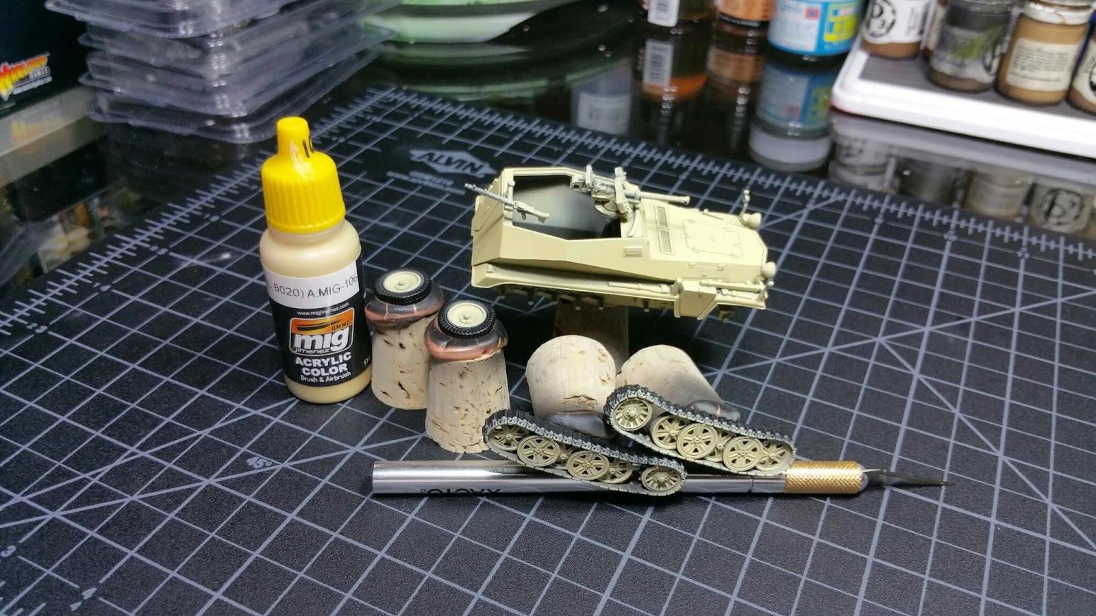 Treadhead - A Military Modelling Blog: August 2016