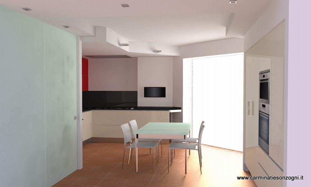 progetti cucina soggiorno. come arredare un open space cucina e ... - Arredamento Piccolo Soggiorno Con Angolo Cottura