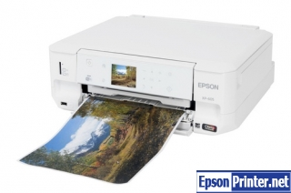How to reset Epson XP-605 with application
