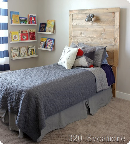 how to make a wood headboard diy