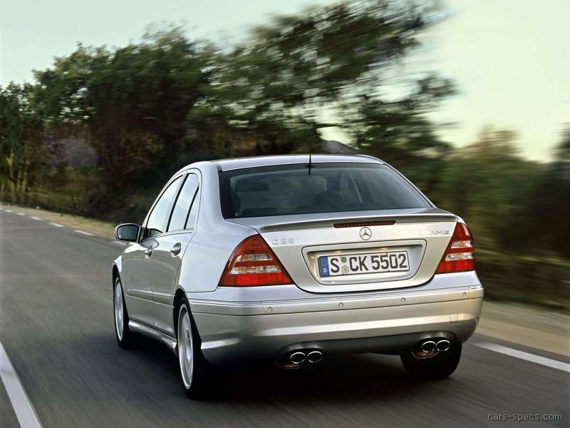 2006 Mercedes-Benz C-Class C55 AMG Specifications ...