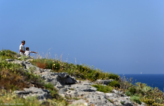 Penya-segats de la Punta del Cavall. Salou, Tarragonès, Tarragona