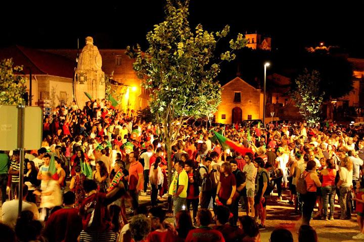Fotos - Festa do Campeonato Europeu 2016 em Lamego