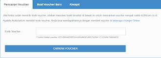 Cara Deposit Bitcoin di Situs Bitcoin Indonesia dengan Voucher