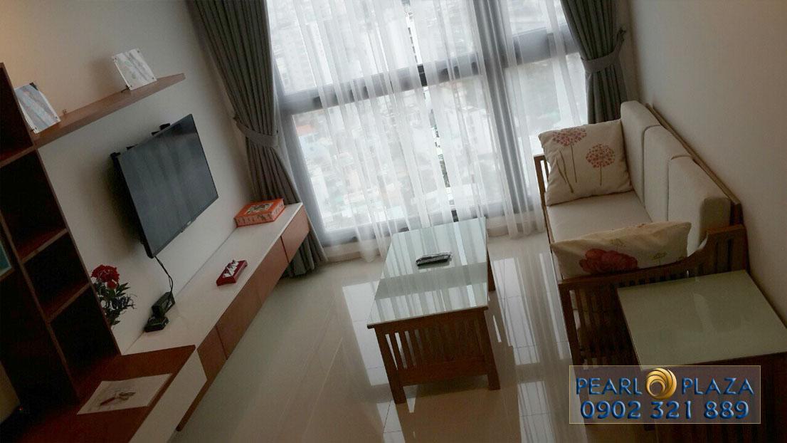 Cho thuê căn hộ Pearl Plaza diện tích 55m2