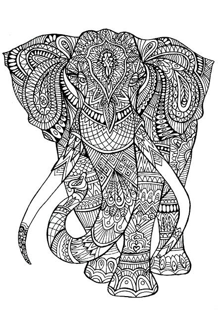 Big Elephant Full Of Details  From The Gallery  Animals