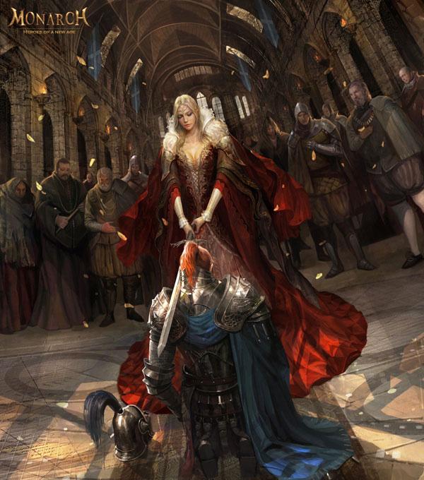 Hình nguyên họa tuyệt đẹp của Monarch Online - Ảnh 7