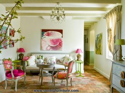 Trang trí nhà đón Tết với giấy dán tường mùa xuân-15