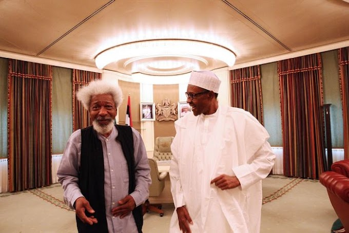 """We Know Where Your Dictatorship Plans Will End"" – Soyinka Slams Buhari"
