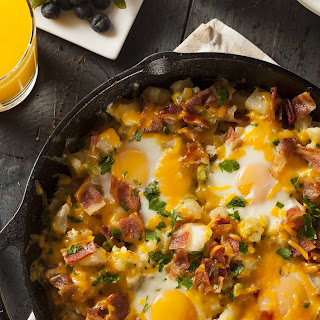 Bacon Mushroom Baked Eggs Recipes