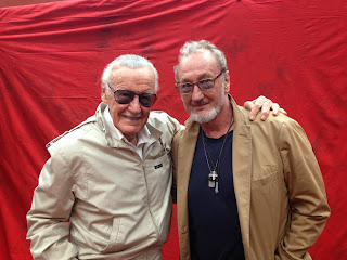 Spiderman and Freddy Krueger, two icons