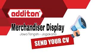 Lowongan Kerja Merchandiser Semarang Jogja