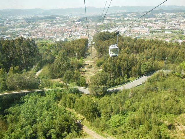 Vistas de la ciudad desde el Monte da Penha