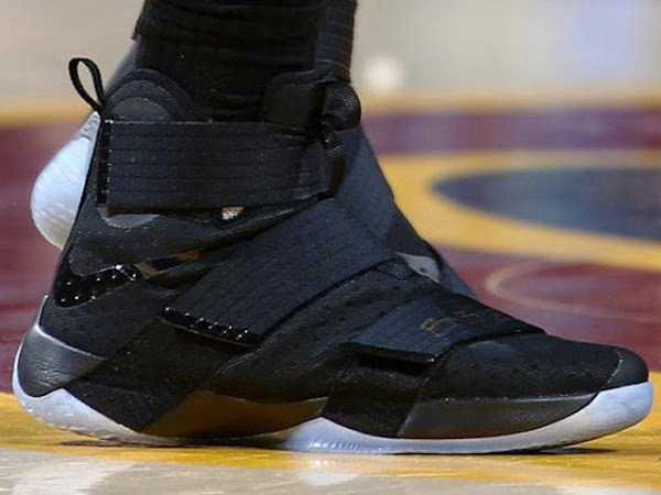 LBJ Leads Cavs to Game 3 Win And Debuts Nike Soldier 10s