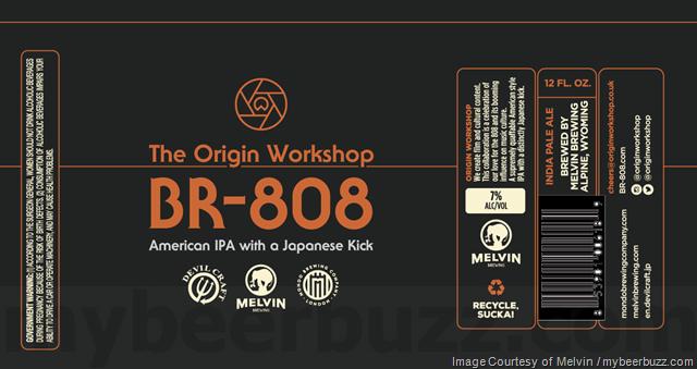 Melvin, Devil Craft & Mondo brewing Collaborate On The Origin Workshop BR-808