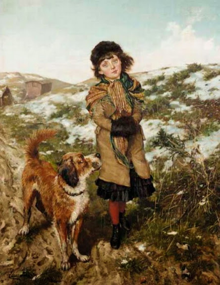 Edgar Bundy - A Winter Walk