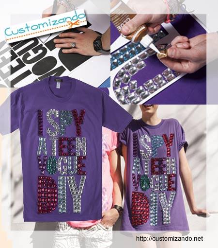 Como customizar camisetas que viram vestidos