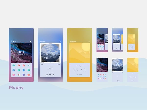 Download APK: Wavy for KLWP v2019.Sep.24.01 [Paid]