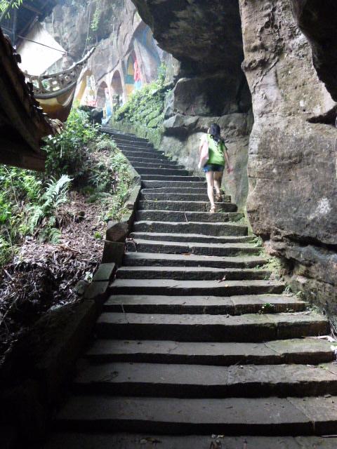 CHINE.SICHUAN.PING LE à 2 heures de Chengdu. Ravissant .Vallée des bambous - P1070626.JPG