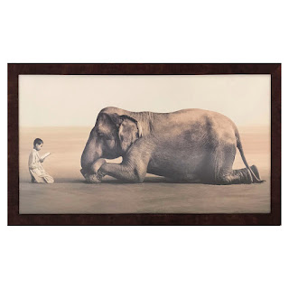 Gregory Colbert 'Ashes and Snow' Framed Print