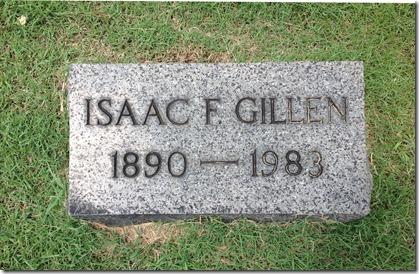 GILLEN_Isaac F_1890-1983_Headstone_RomeProctorvilleCem_OH