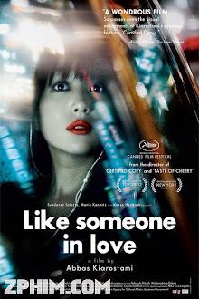 Như Một Người Đang Yêu - Like Someone in Love (2012) Poster