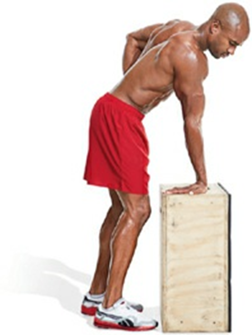 BICEPS AND TRICEPS STRETCH