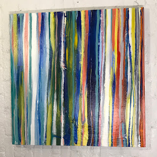 Raz Signed Abstract Painting