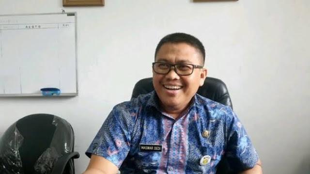 Foto: Maswar Dedi, Kepala DPMPTSP Sumbar. Izin Perusahaan Asing Kewenangan BKPM RI.