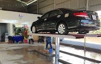 Cầu nâng 1 trụ rửa xe thương hiệu Việt Nam