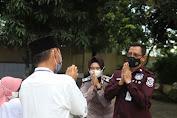 Tim Warung Jumat Polda Banten Kunjungi Panti Asuhan Yatim Piatu Baiturrahman, Salurkan Paket Sembako