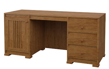 Hillside Executive Desk