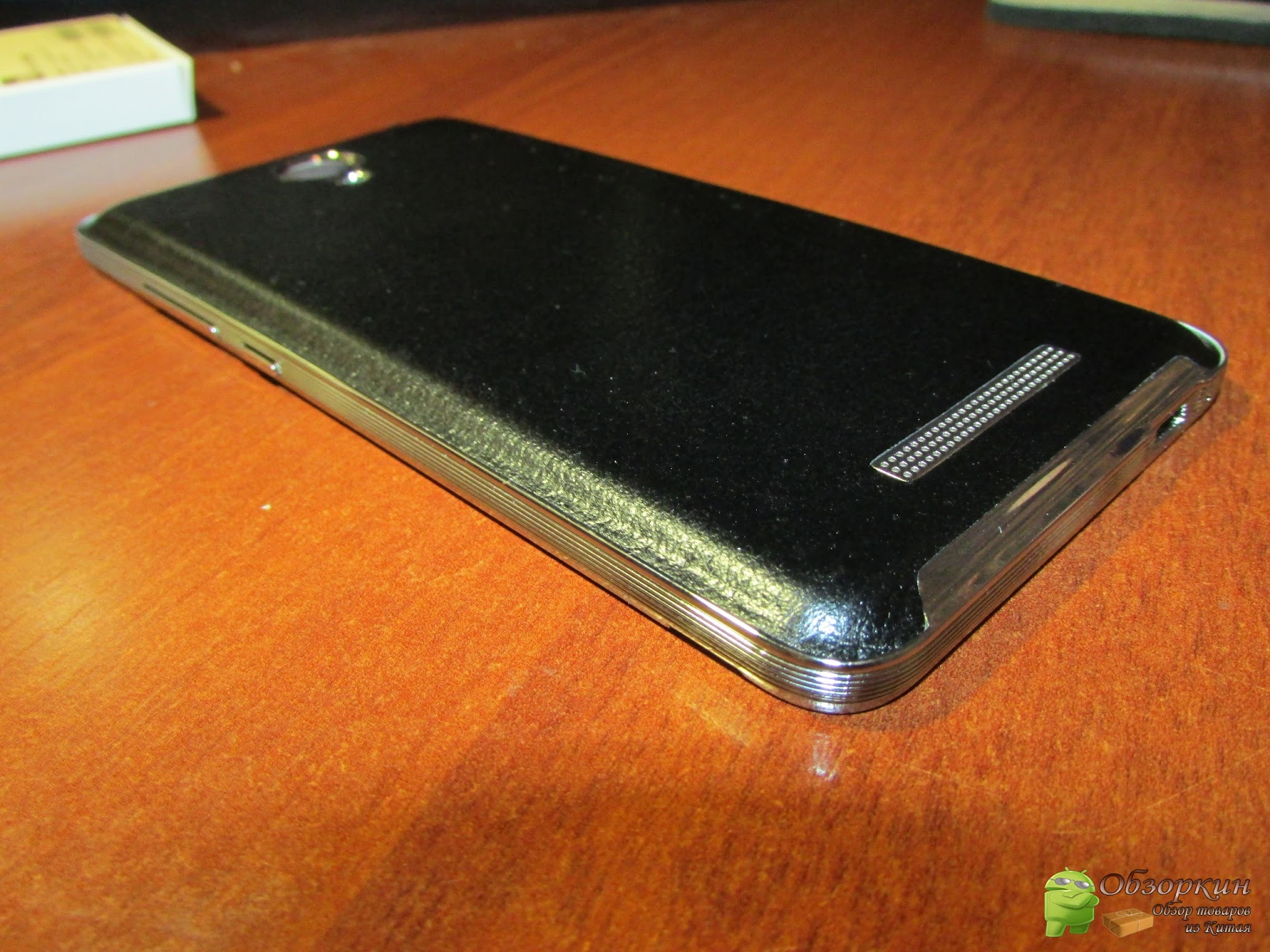 Задняя крышка под кожу и бампер на Xiaomi Redmi Note 2. Посылка с Aliexpress
