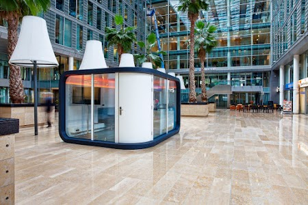 Office pod at WTC Amsterdam