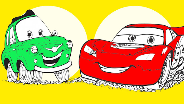 Disney Cars Coloring Pages  Coloring Book