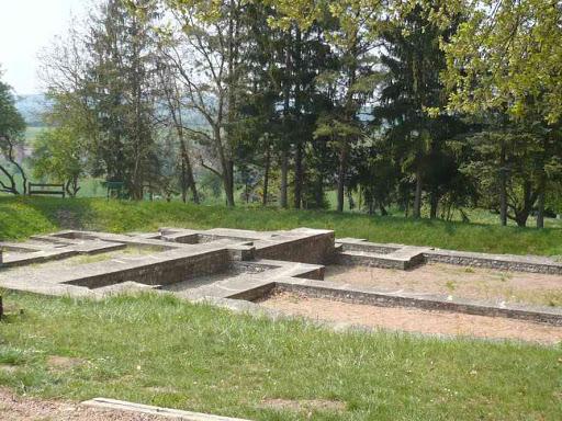 Vestiges romains à Mackwiller.