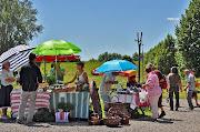 Petörke Portéka vásár a Petörke tó partján Bárdudvarnokon