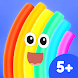 Rudi Rainbow: Children's Book With Learning Games - Androidアプリ