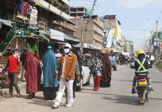 Eastleigh residents teargassed