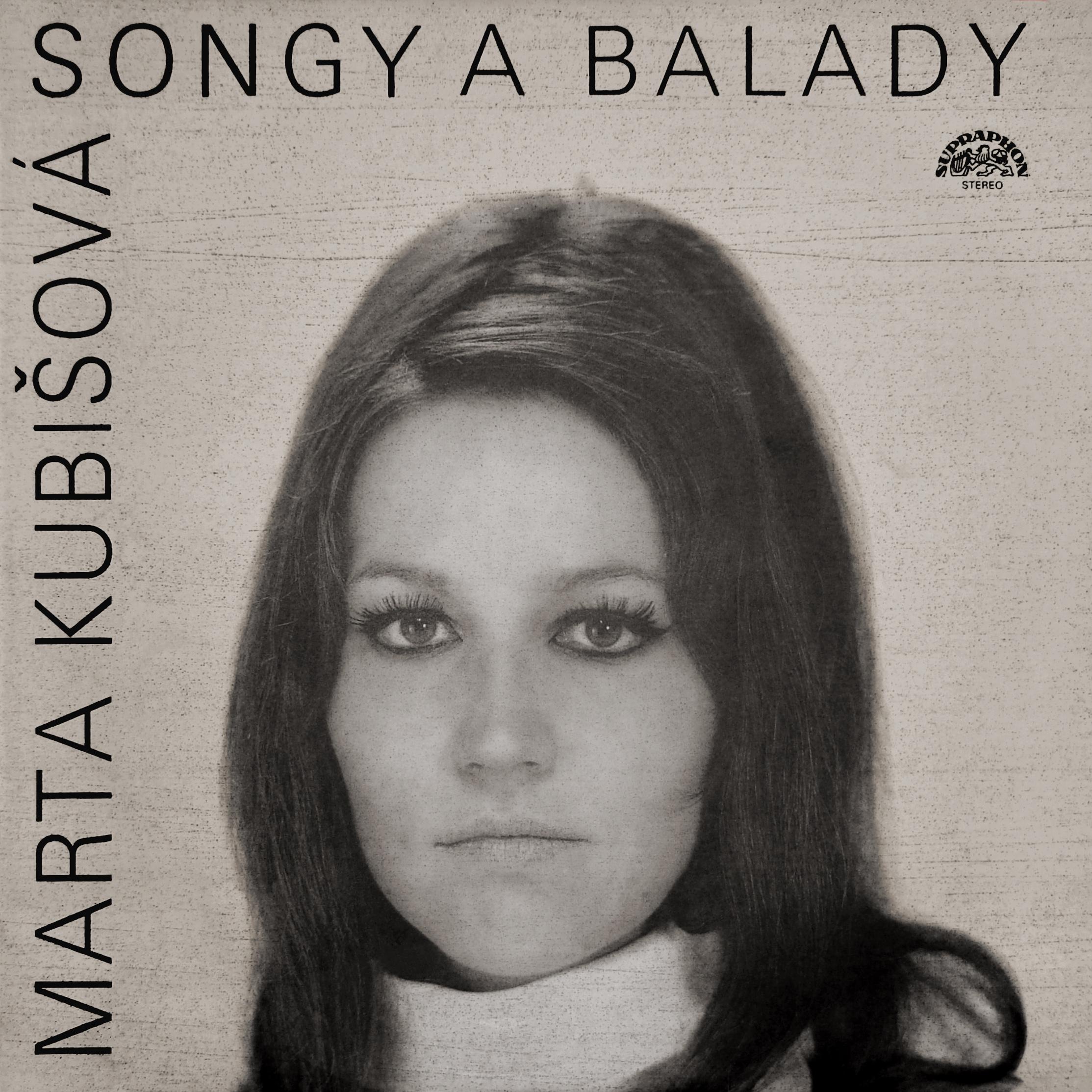 Album Artist: Marta Kubišová / Album Title: Songy a balady